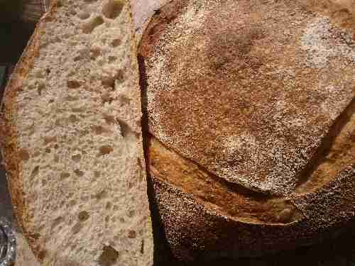 Naturally Leavened White Loaf